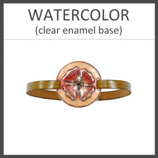 Watercolor Clear Enamel