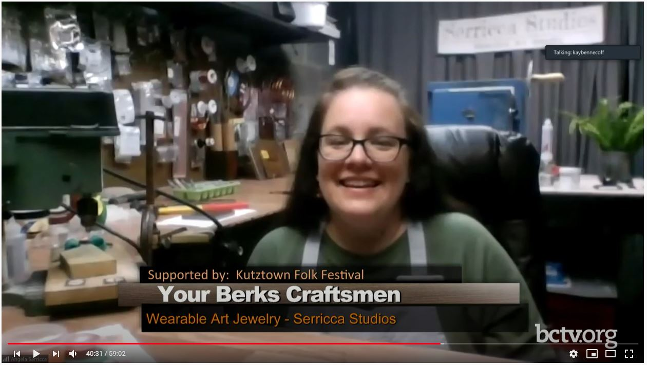 BCTV - Your Berks Craftsmen August 2020 - Serricca Studios